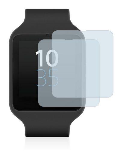 BROTECT Schutzfolie »für Sony Smartwatch 3 SWR50«, (2 Stück), Folie Schutzfolie klar