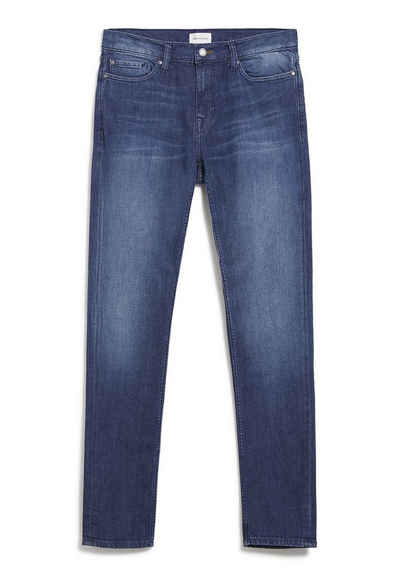 Armedangels Slim-fit-Jeans »IAAN Herren Slim Fit Denim Slim Fit« (1-tlg) Kontrastnaht