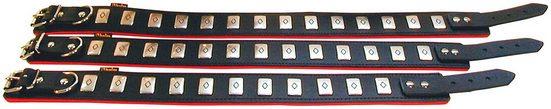 HEIM Hundehalsband »Apollo«, schwarz/rot, Länge: 50-65 cm