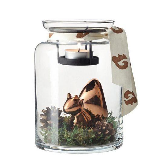 LEONARDO Teelichthalter »Dekoglas Eichhörnchen« (1 Stück)