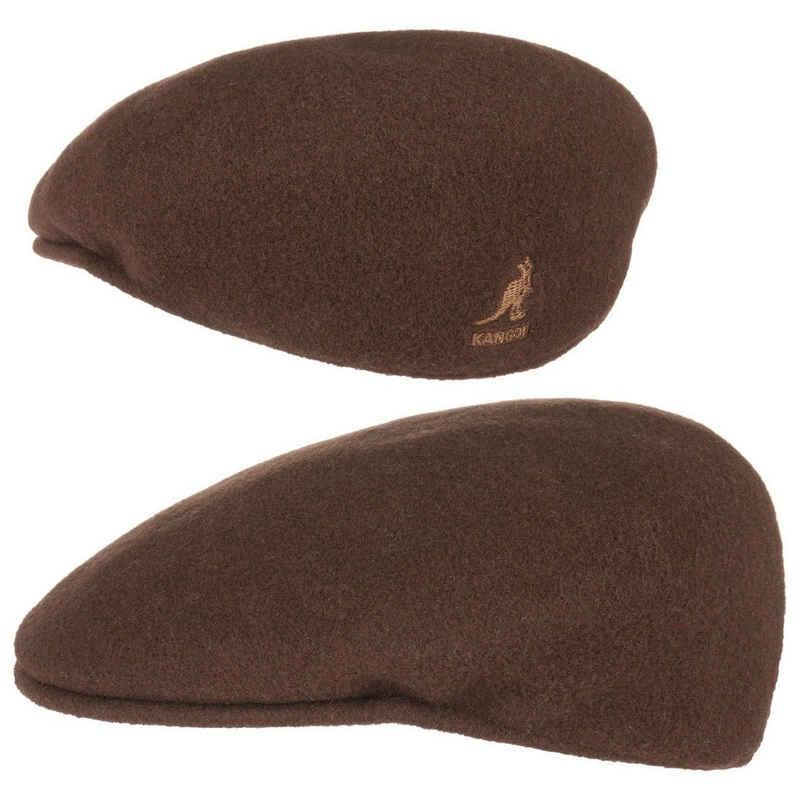 Kangol Flat Cap (1-St) Schiebermütze mit Schirm