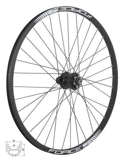 "FORCE Fahrrad-Laufrad »29"" MTB Hinterrad DISC f. Kassetten 8-11«"