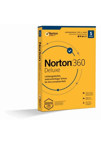 Norton 5 Peripheriegeräte 50 GB Onlinespeiche...
