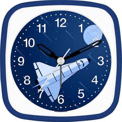 EUROTIME Kinderwecker »Space Shuttle blau, 27135-08«