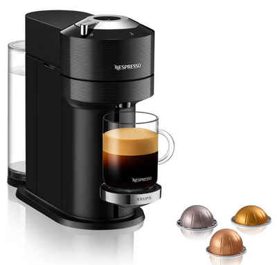 Nespresso Kapselmaschine XN9108 Vertuo Next, neuartiges Kapselsystem, 54% aus recyceltem Material