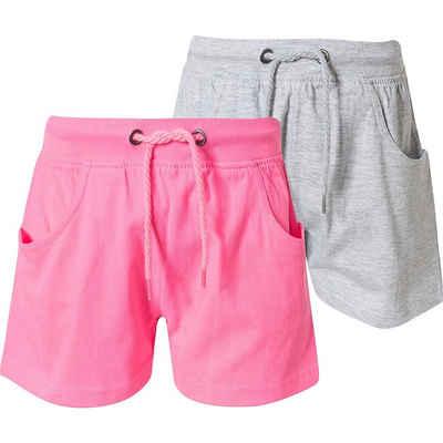 Blue Seven Sweatshorts »Sweatshorts Doppelpack für Mädchen«
