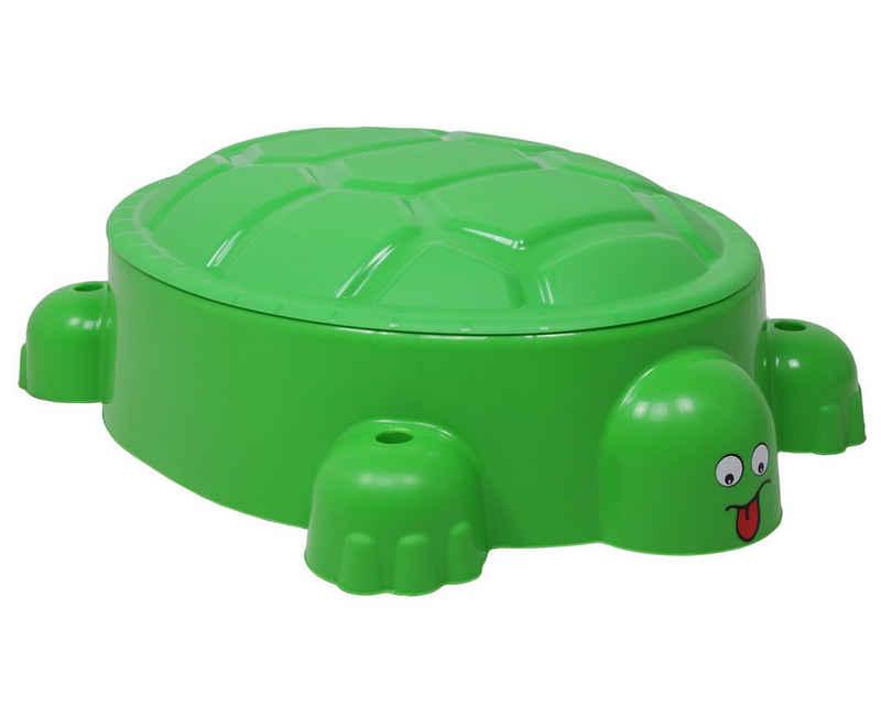 ONDIS24 Sandkasten »Planschbecken Schildkröte«, multifunktional, leicht, für Kinder ab 18 Monaten