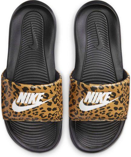 Nike Sportswear »VICTORI ONE PRINT SLIDE« Badesandale