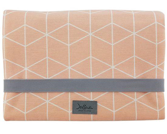 JOLLAA Windeltasche »Cubes«, Windeltasche für unterwegs, kleine Wickeltasche für Windeln & Feuchttücher, Windeletui, Wickelmäppchen MADE IN EUROPE