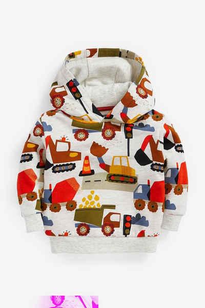 Next Kapuzensweatshirt »Baggerprint-Kapuzensweatshirt« (1-tlg)