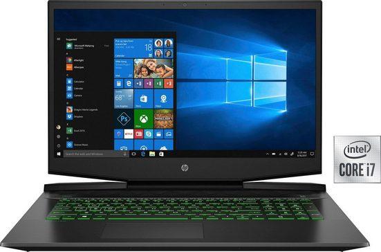 HP 15-dk1270ng Notebook (39,6 cm/15,6 Zoll, Intel Core i7, GeForce GTX 1650 Ti, 512 GB SSD)