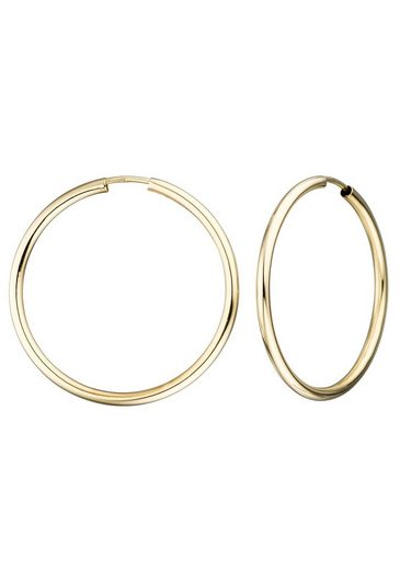 JOBO Paar Creolen, 333 Gold 28 mm