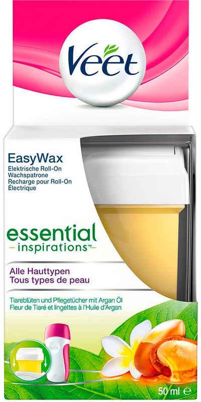 Veet Wachspatrone »Easy Wax Essential Inspirations Wachsnachfüllpatrone«, mit Easy-Gelwax Technology