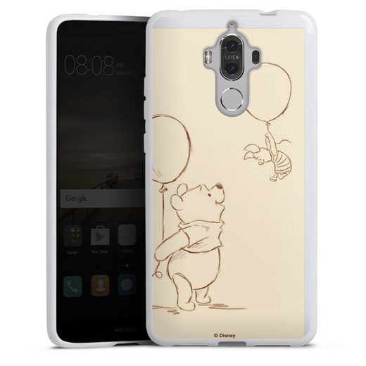 DeinDesign Handyhülle »Winnie & Ferkel« Huawei Mate 9, Hülle Winnie Puuh Disney Offizielles Lizenzprodukt