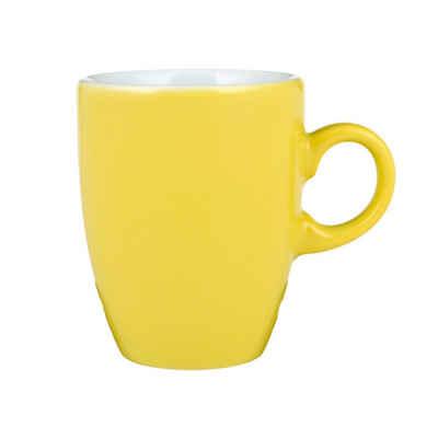 Seltmann Weiden Espressotasse »VIP Gelb 90 ml«, Porzellan