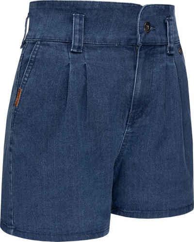Ragwear Shorts »Suzzie« stylische, kurze Sommerhose in Jeansoptik
