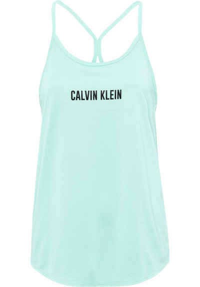 Calvin Klein Performance Sporttop »Wo - Mesh Tank« Abgerundeter Rumpfsaum