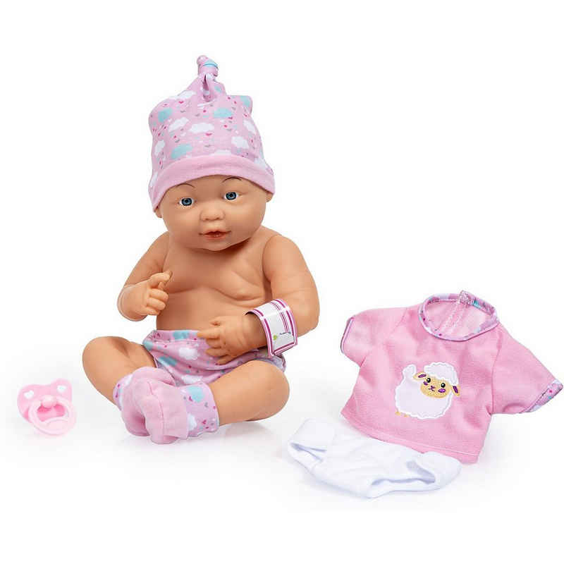 Bayer Babypuppe »Newborn Baby 36 cm mit Zubehör«