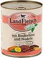 LANDFLEISCH Hundenassfutter »Pur Herz und Nudeln«, 6 Dosen á 800 g, Bild 2