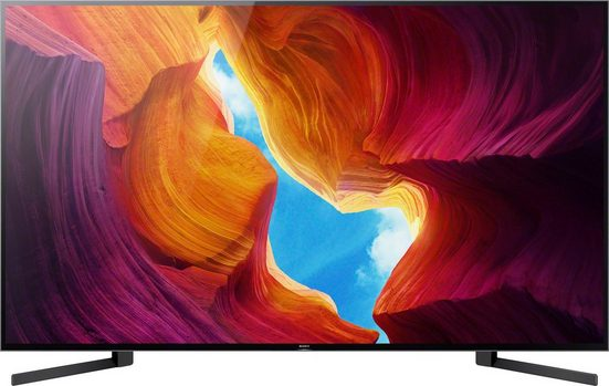 Sony KD-85XH9505 LCD-LED Fernseher (215 cm/85 Zoll, 4K Ultra HD, Android TV, Smart-TV)