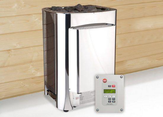 WEKA Set: Bio-Kombiofen »BioS«, 11 kW, externe Steuerung, inkl. Zubehör