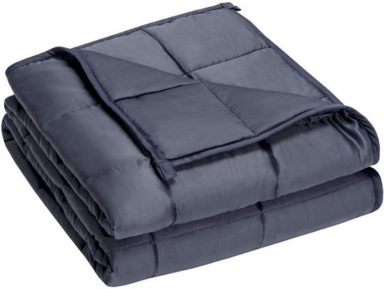 Gewichtsdecke, »Schwere Decke Anti Stress Beschwerte Decke Weighted Blanket«, COSTWAY, für Erwachsene und Kinder