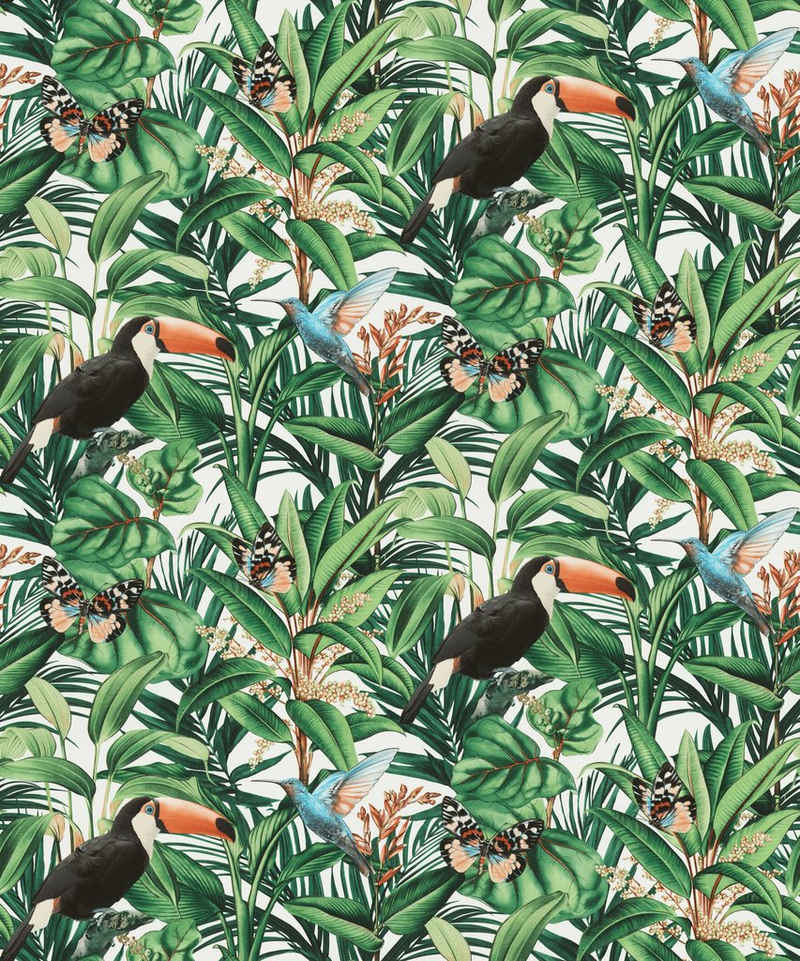 Erismann Vliestapete »Paradisio 2«, 10,05 x 0,53m Muster/Motiv