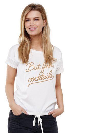 Decay T-Shirt mit feschem Schriftzug