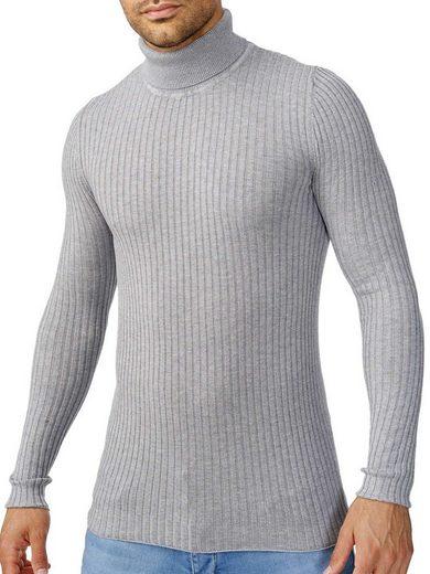 Tazzio Rollkragenpullover »D407« zeitloser Basic Pullover