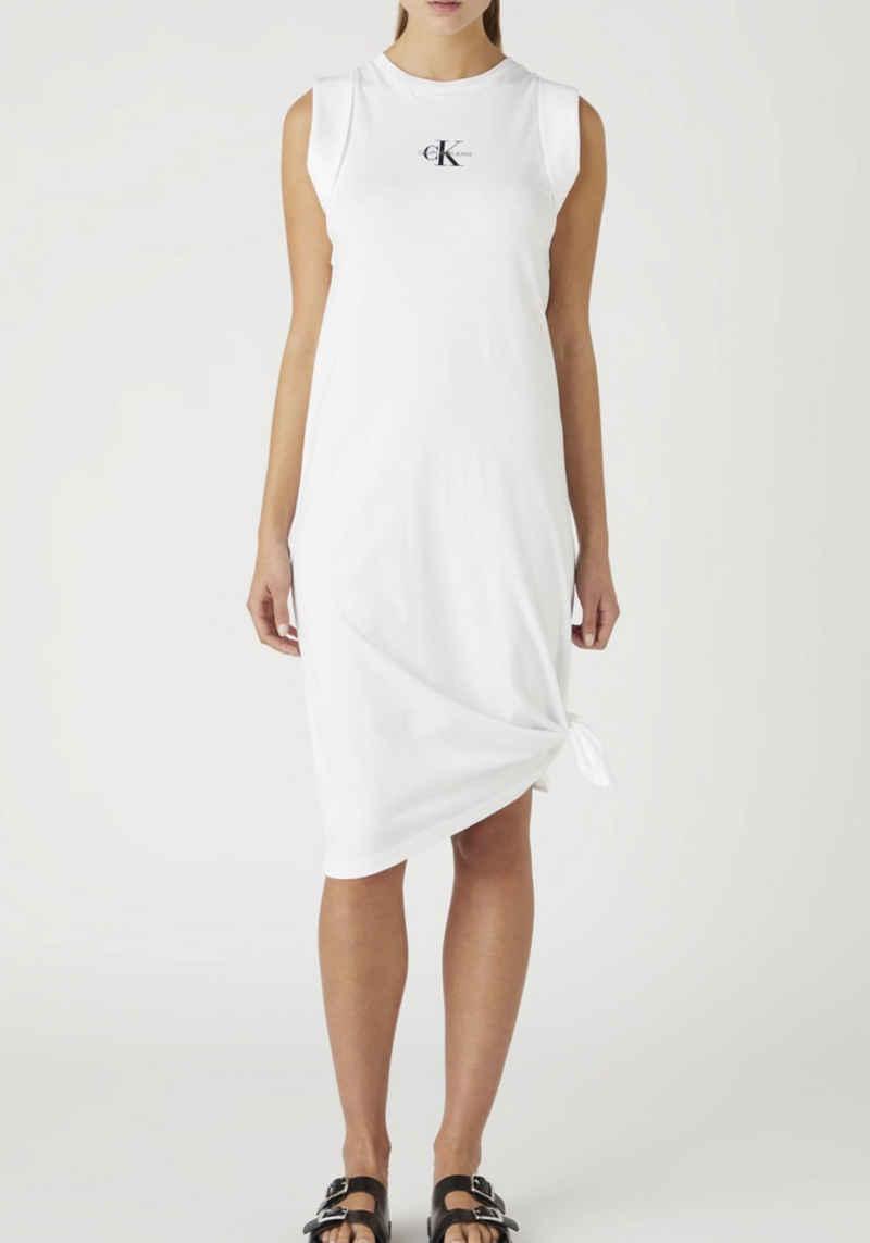 Calvin Klein Jeans Shirtkleid »Knotted T-shirt Dress« mit Calvin Klein Jeans Logo-Schriftzug