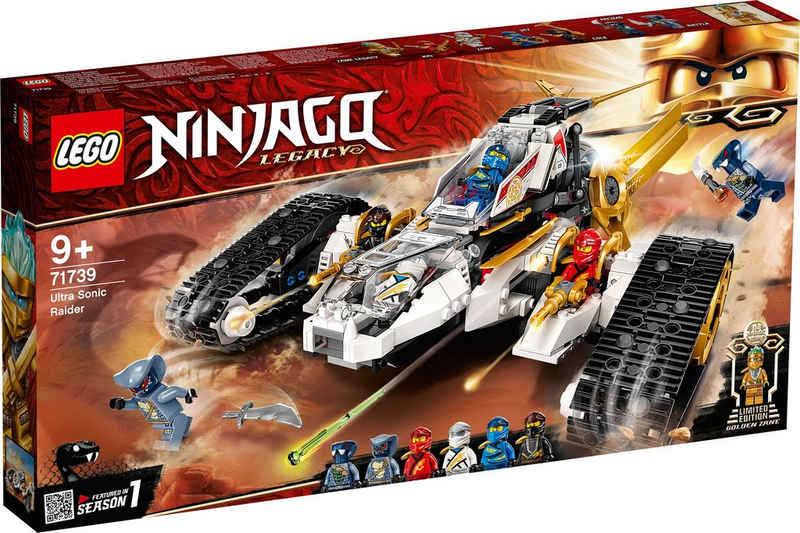 LEGO® Konstruktionsspielsteine »Ultraschall-Raider (71739), LEGO® NINJAGO®«, (725 St)