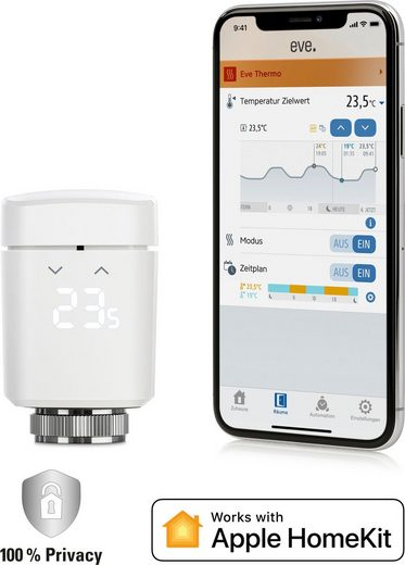 EVE »Thermo 2020« Smartes Heizkörperthermostat