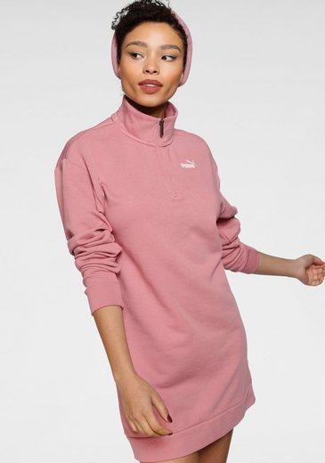PUMA Sweatkleid »ESS+ Half-Zip Dress TR«