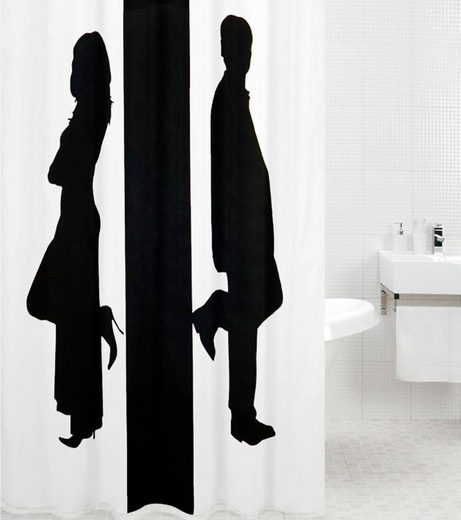SANILO Duschvorhang »Unisex«, 180 x 180 cm
