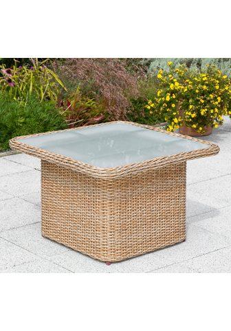 MERXX Sodo stalas »Duplex Tisch« 71x72 cm