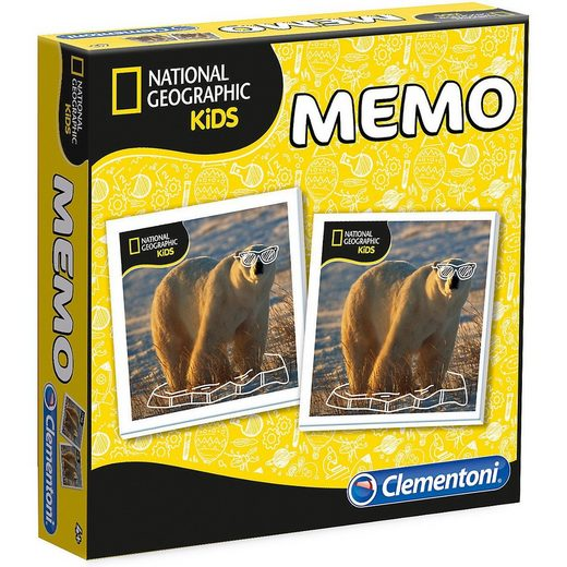 Clementoni® Spiel, »Memo Game - National Geographic«