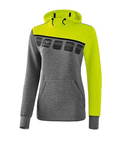 Erima Sweater »5-C Kapuzensweat Damen«
