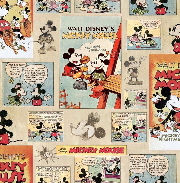Graham & Brown Papiertapete Mickey Vintage