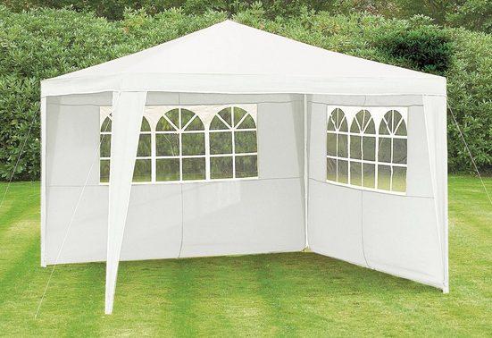KONIFERA Seitenteile für Pavillon »Party«, 300 x 300 cm, weiß, 2 Stk.