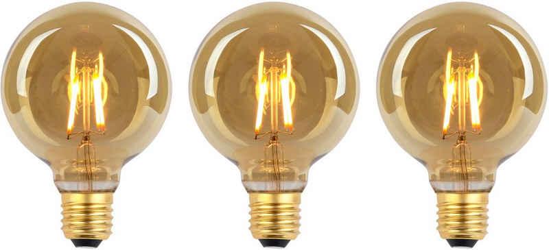 näve »LED Leuchtmittel E27/4W 3er-Set« LED-Leuchtmittel, E27, 3 Stück, Warmweiß, Set - 3stück, dimmbar