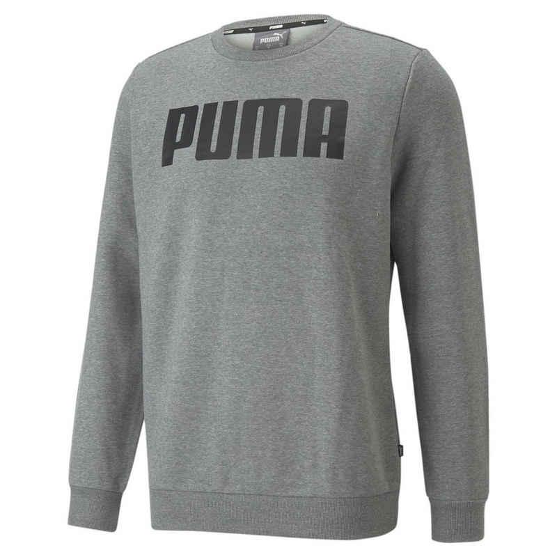PUMA Sweater »Essentials Herren Sweatshirt in voller Länge mit«