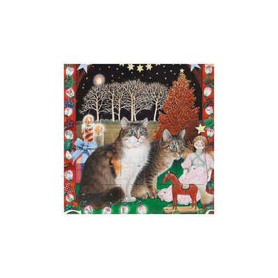dumont Buchverlag Wandkalender »Adventskalender Ivory Cats 2, Adventskalender«