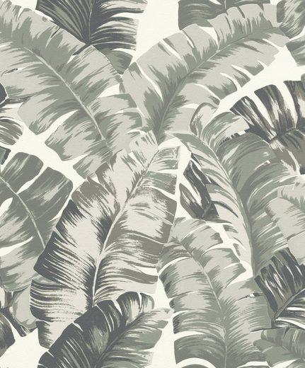 Rasch Vliestapete »Yucatán«, aufgeschäumt, gemustert, botanisch, (1 St)