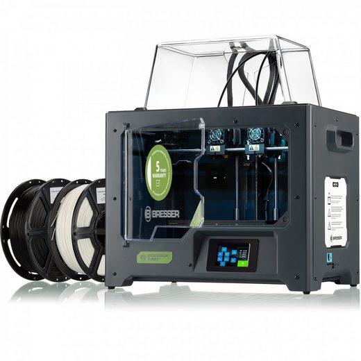 BRESSER 3D-Drucker »BRESSER T-REX² WLAN 3D Drucker mit 2 Extrudern«, 3D Drucker