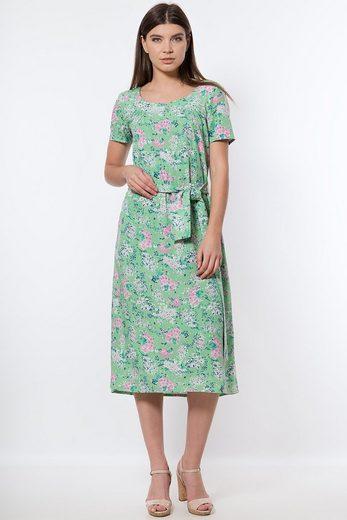 Finn Flare Jerseykleid mit bezauberndem Blumenprint