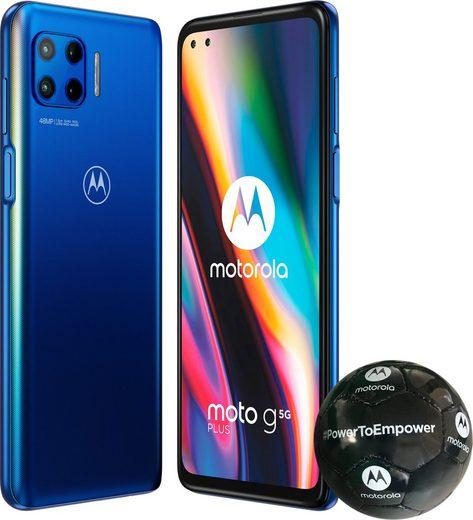 Motorola Moto G 5G plus Smartphone (17 cm/6,7 Zoll, 128 GB Speicherplatz, 48 MP Kamera)
