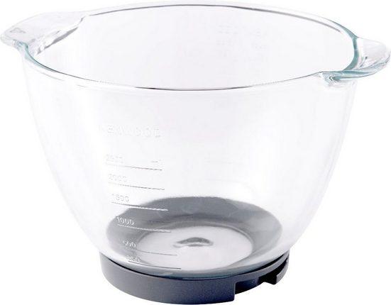 KENWOOD Küchenmaschinenschüssel »Chef Glas-Rührschüssel AT550«, Glas, passend für Kenwood KVC3000, KVC5000 und KVC7000, alle Kenwood Chef Modelle