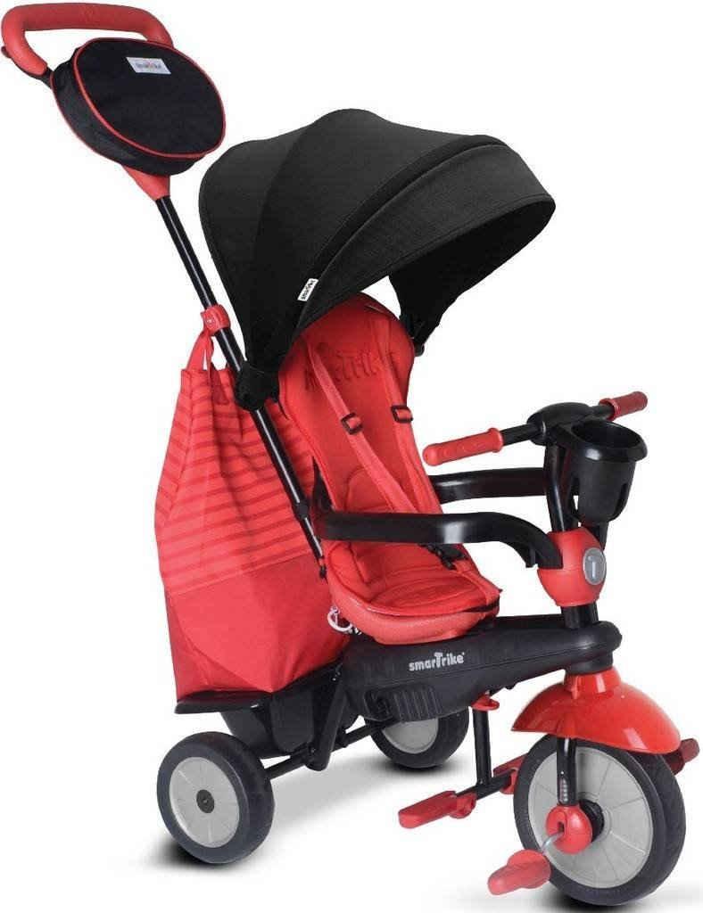 smarTrike® Dreirad »Swing, Rot«, mit verstellbarem Sonnenschutzdach