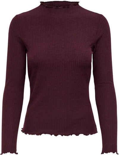 Only Langarmshirt »ONLEMMA L/S HIGH NECK TOP«
