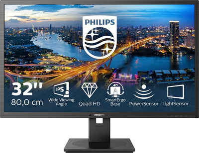 "Philips 325B1L Gaming-Monitor (80 cm/31,5 "", 2560 x 1440 Pixel, QHD, 4 ms Reaktionszeit, 75 Hz, IPS)"